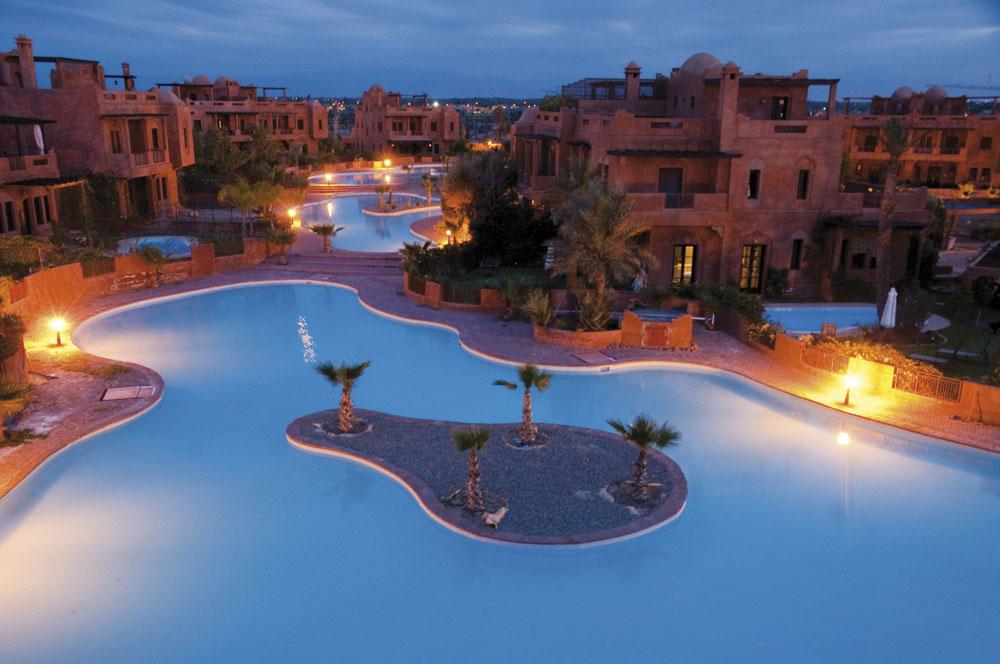 Piscine collective Maroc
