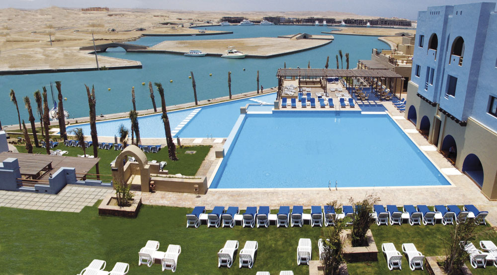 Piscine collective Egypte