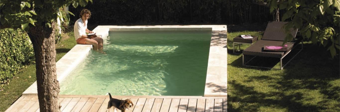 Piscine extérieure, piscine enterrée